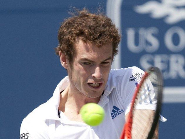 Andy Murray na prestižním turnaji Masters v Torontu.