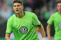 Mario Gómez v dresu Wolfsburgu