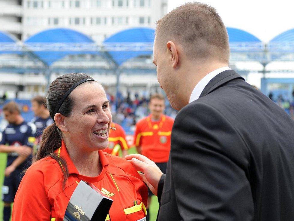 Rozhodčí Dagmar Damková se loučí s aktivní kariérou.