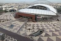 Jediným hotovým stadionem pro MS ve fotbale v Kataru je rekonstruovaný Khalifa International Stadium. Za rok se tu bude konat mistrovství světa v atletice.