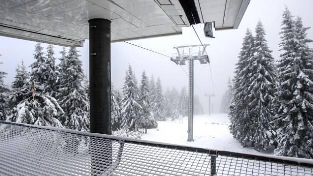 Lanovka na Sněžku. Ilustrační snímek