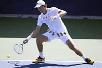 Český tenista Tomáš Berdych v 1. kole US Open.
