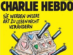 Německá verze francouzského satirického týdeníku Charlie Hebdo dnes vyšla s kresbou, která zesměšňuje bezpečnostní opatření po pondělním útoku na vánoční trhy v Berlíně.