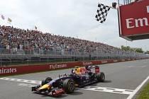 Velká cena Kanady: Daniel Ricciardo v cíli