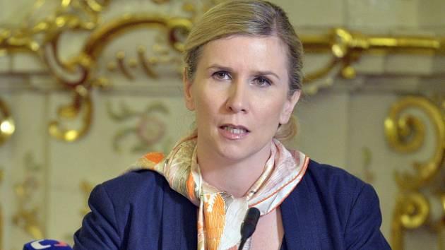 Bývalá ministryně školství, mládeže a tělovýchovy Kateřina Valachová.
