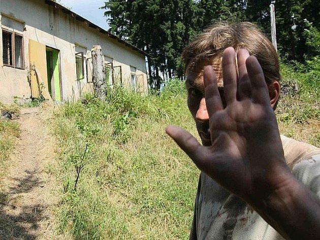 Vedoucí tábora v Rudolfově Zdeněk Sládek