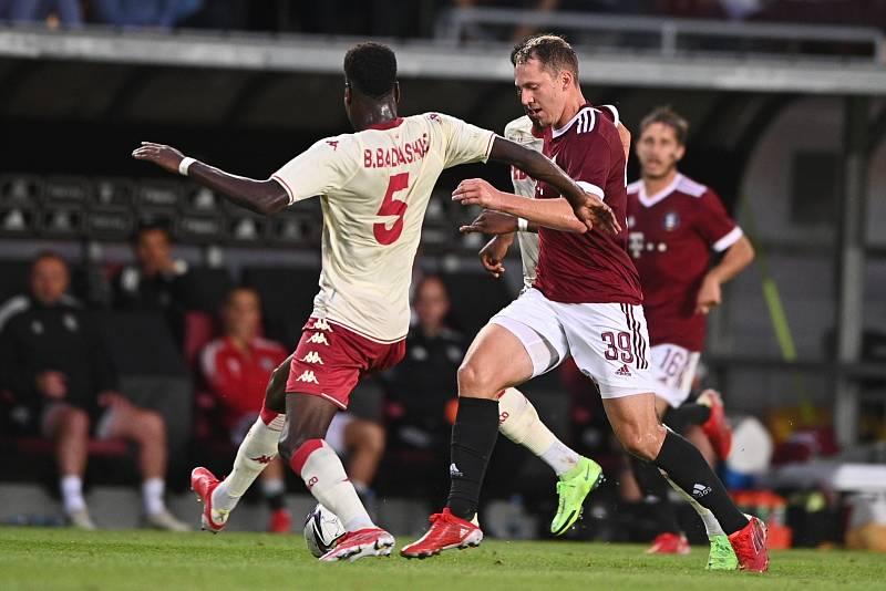 Fotbalisté Sparty podlehli doma Monaku.