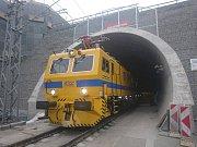 Tunel Ejpovice mezi Plzní a Prahou.