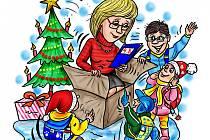 Učitelka a Vánoce.