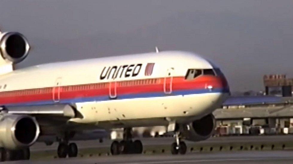 Autentické záběry United Airlines 232