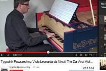 Viola organista Leonarda da Vinciho je na světě.