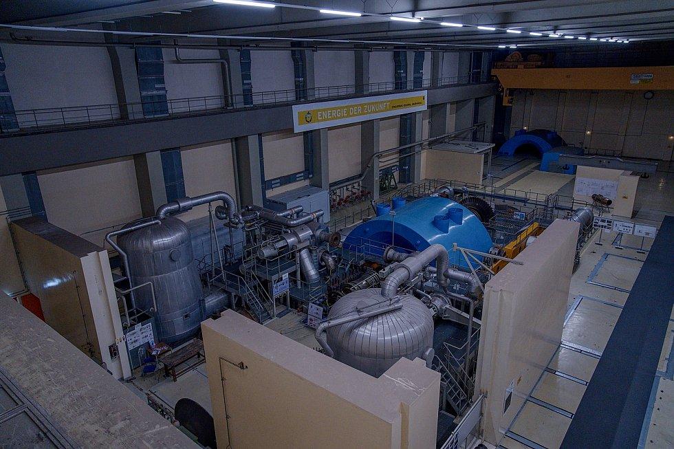 Strojovna rakouské jaderné elektrárny Zwentendorf slouží třeba jako prostor pro společenské akce.