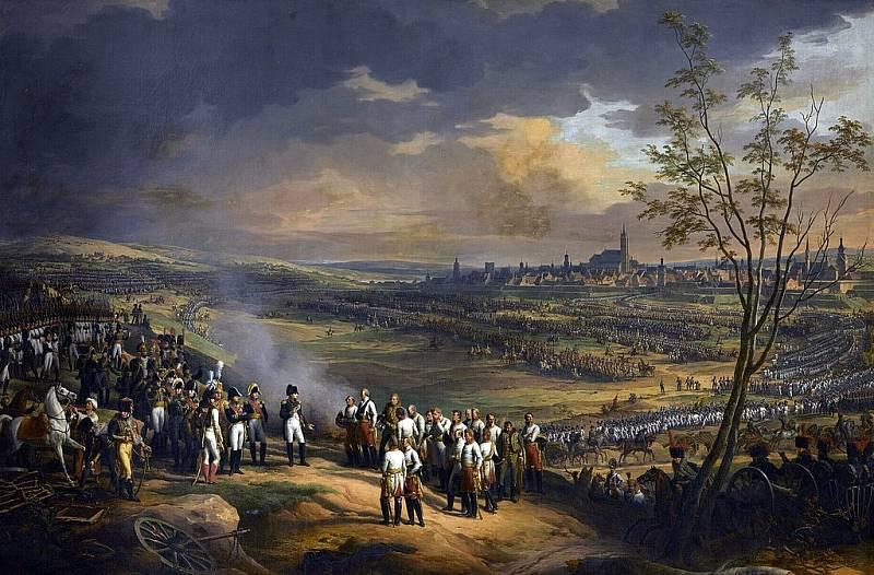 Kapitulace rakouských vojsk po bitvě u Ulmu 20. září 1805