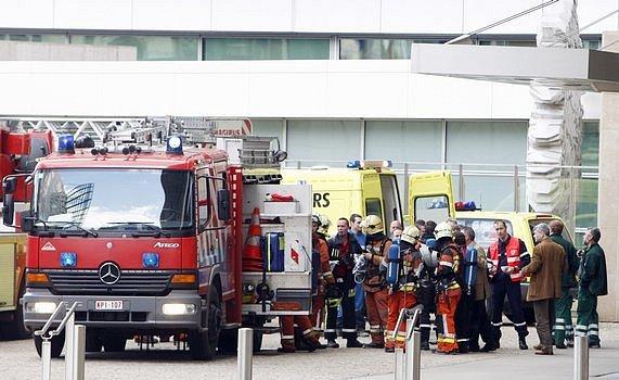 V bruselském sídle Evropské komise 18. května hořelo. Budova, v níž normálně pracují stovky lidí, byla evakuována.