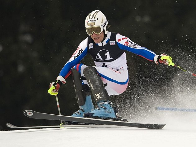 Francouz Julien Lizeroux se v neděli v Kitzbühelu poprvé radoval z vítězství ve Světovém poháru.