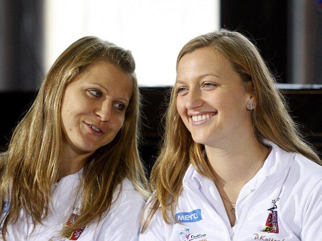 Lucie Šafářová a Petra Kvitová