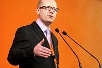 Bohuslav Sobotka v roce 2012