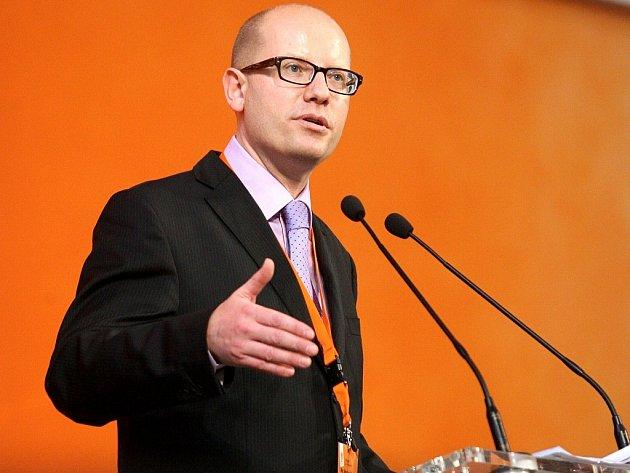 Předseda ČSSD Bohuslav Sobotka.
