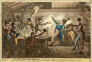 Zatčení spiklenců z Cato Street