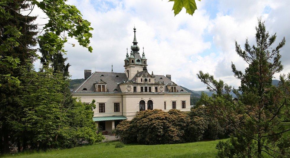 Chotkova vila, Velké Březno