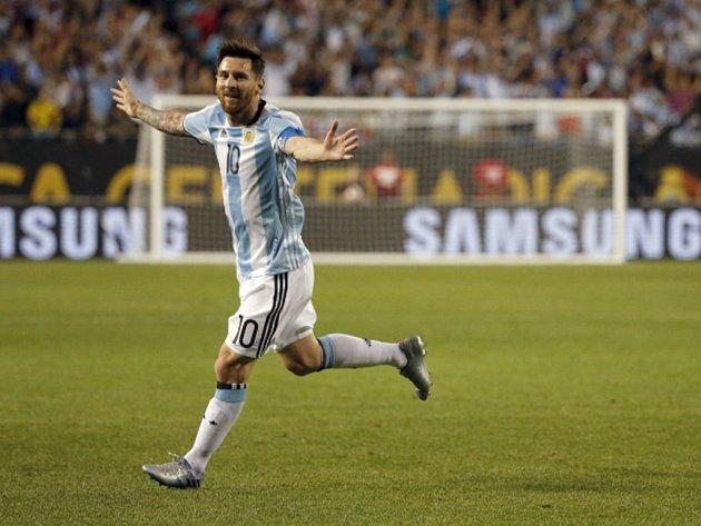 Argentinský čaroděj Lionel Messi.