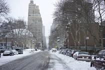 Sněhový příděl v New Yorku zdaleka neodpovídal tomu, na co se město připravovalo.
