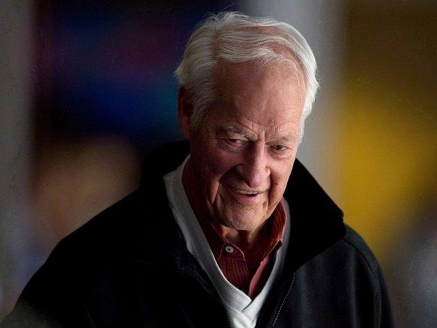 Hokejová legenda Gordie Howe.