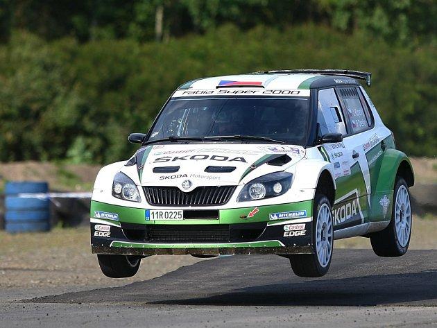 Jan Kopecký na Rallye Bohemia.
