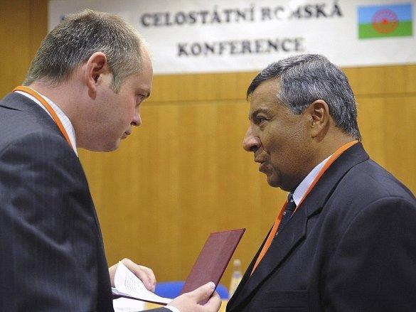 Stanislav Daniel (vpravo) s Michalem Haškem
