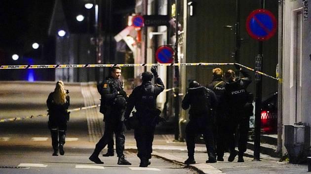 Útok lukem a šípy v Kongsbergu