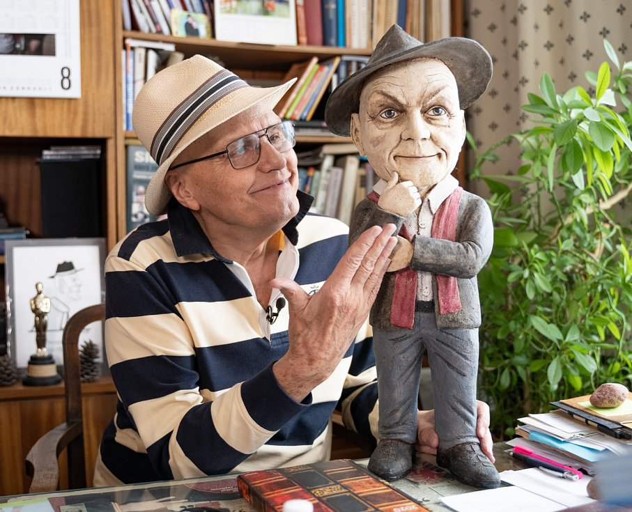 Jan Přeučil před nedávnem oslavil krásných 84 let