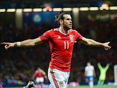 Hvězda Walesu Gareth Bale.