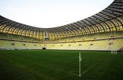 Aréna v Gdaňsku. Na stadionu pro více než 40 tisíc lidí se dnes představí česká reprezentace