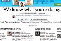 Server CNN informuje o novém webu, který upozorňuje na nedostatečnou ochranu soukromí na internetu.