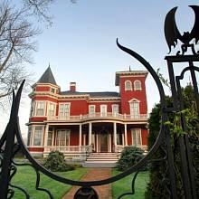 Kingovo rodinné sídlo v Bangoru, stát Maine, USA