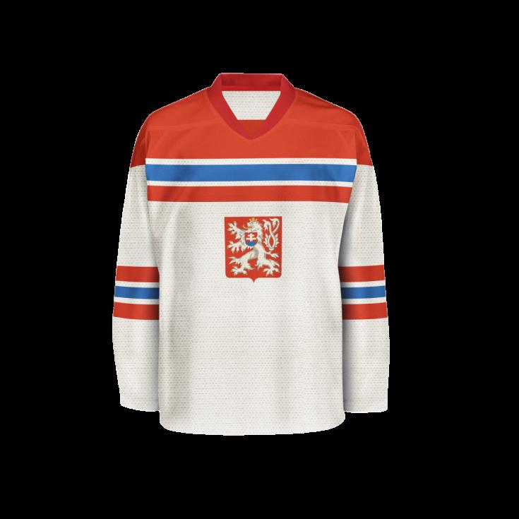 b5a93fe4adb Hokejový dres z roku 1938.