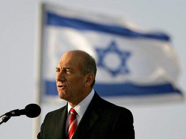 Izraelský premiér Ehud Olmert (na archivním snímku)