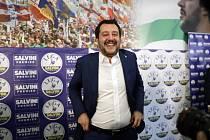 Lídr Ligy severu Matteo Salvini