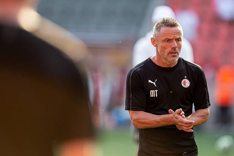 Kondiční trenér mužského A-týmu SK Slavia Praha Martin Třasák