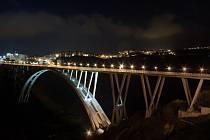 Viadukt Bisandtis v italské Kalábrii