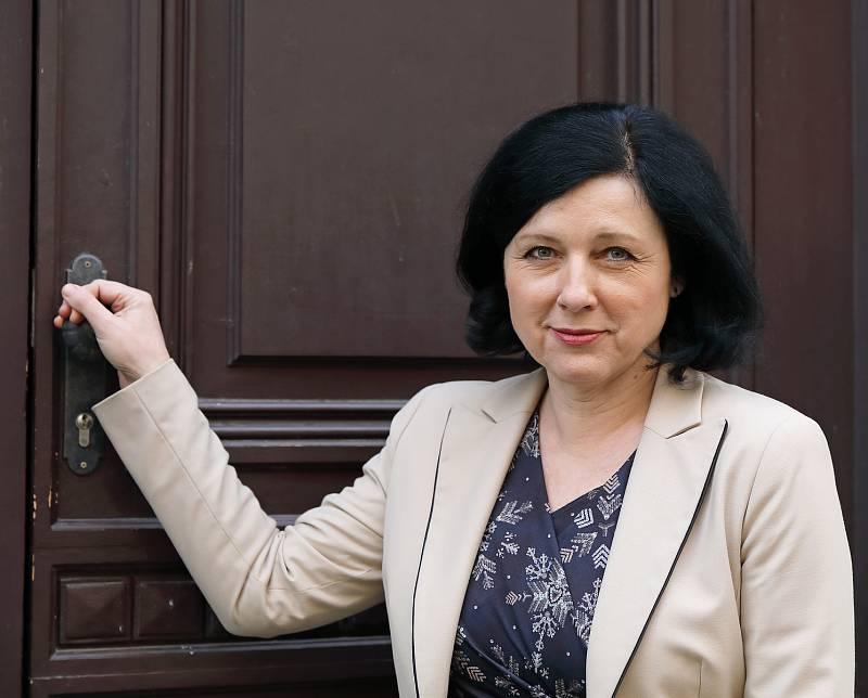 Eurokomisařka Věra Jourová.