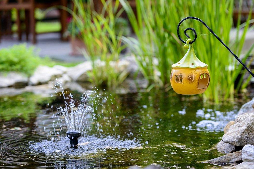 Vodní hrátky ze zahrádky