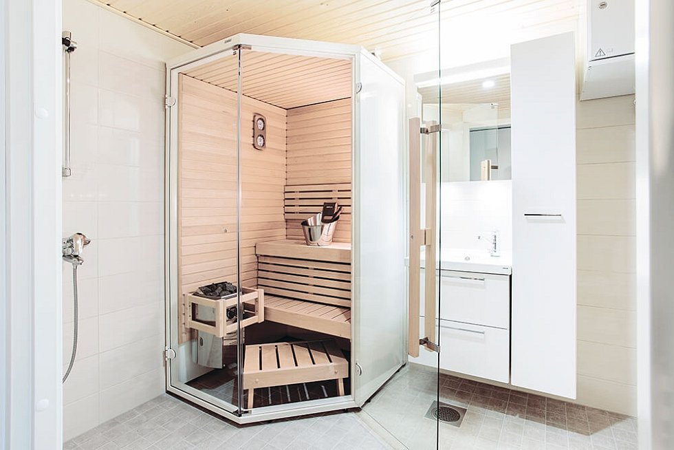 Koupelnová sauna Harvia Sirius