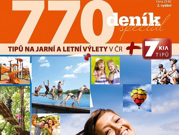 770 tipů na jarní a letní výlety  v ČR.