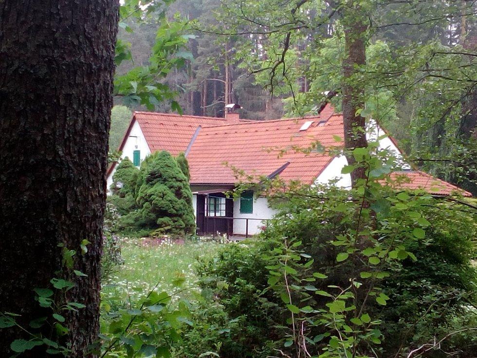 Chalupa Jana Wericha nedaleko Velhartic.