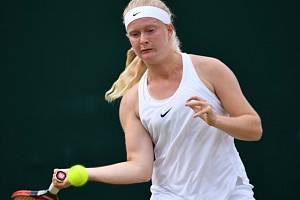 Britská tenistka Francesca Jonesová.