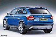 Chystaný malý crossover Škody podle představ britského magazínu Auto Express z roku 2015.