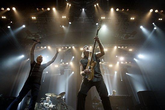 Kapela Deep Purle zahrála 4. května v pražské Tesla Areně.
