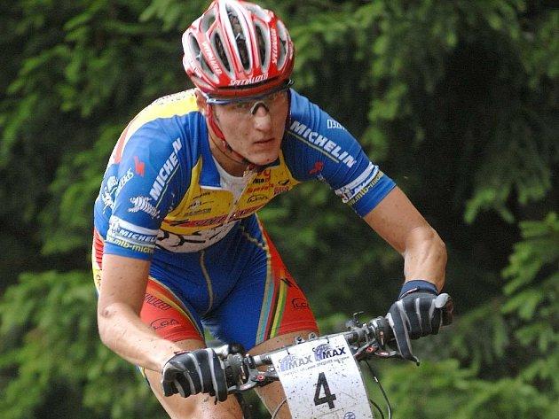 Olympionik. Biker Jaroslav Kulhavý.