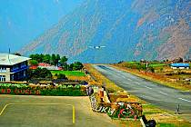 Letiště Lukla v Nepálu